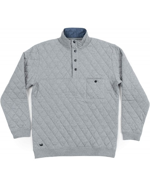 Southern Marsh Ryan Quilted Pullover at  Men's Clothing store