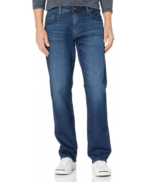AG Adriano Goldschmied Men's The Graduate Tailored Leg Denim Jean at  Men's Clothing store