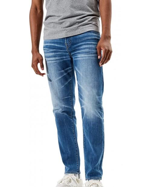 American Eagle Men's 5675415 Cozy Airflex+ Athletic Fit Slim Leg Jeans Tidal Blue Wash at  Men's Clothing store
