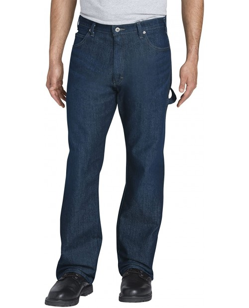 Dickies Men's Relaxed Fit Five-Pocket Flex Performance Carpenter Jean at  Men's Clothing store