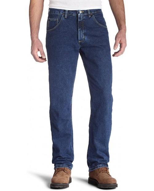Wrangler Men's Genuine Regular-Fit Jean at Men's Clothing store Wrangler Blue Jeans
