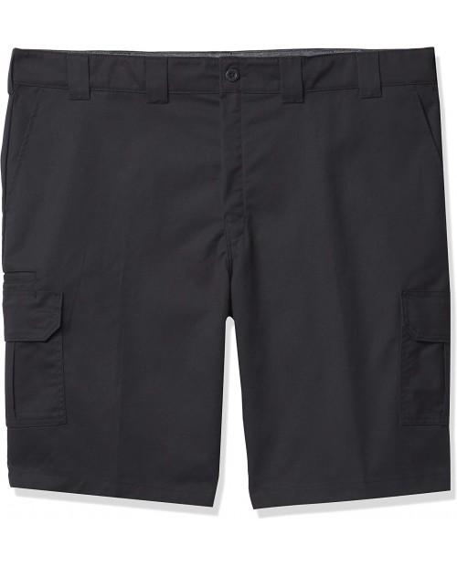 Dickies Men's Big & Tall Big-Tall Cooling Temp-iq Active Waist Twill Cargo Shorts |