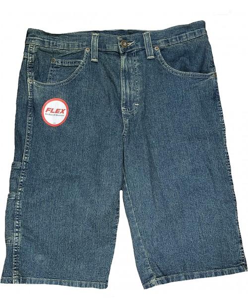 Dickies Blue Denim Regular Fit Flex Denim Shorts at Men's Clothing store