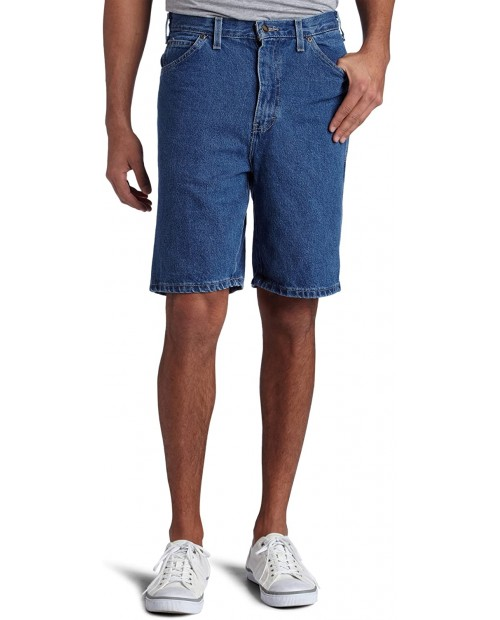 Dickies Men's 9 1 2 Inch Inseam Relaxed Fit Carpenter Short at Men's Clothing store Relaxed Fit Jean Shorts