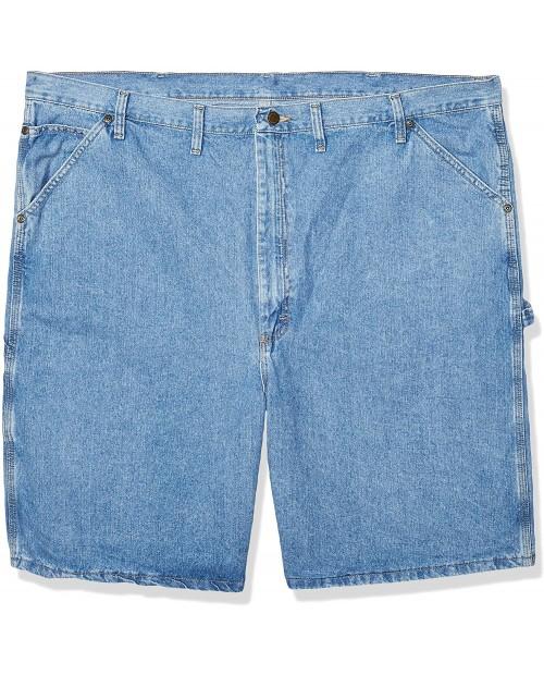 Wrangler Rugged Wear Carpenter Short Loose Fit at  Men's Clothing store Wrangler Denim Carpenter Shorts