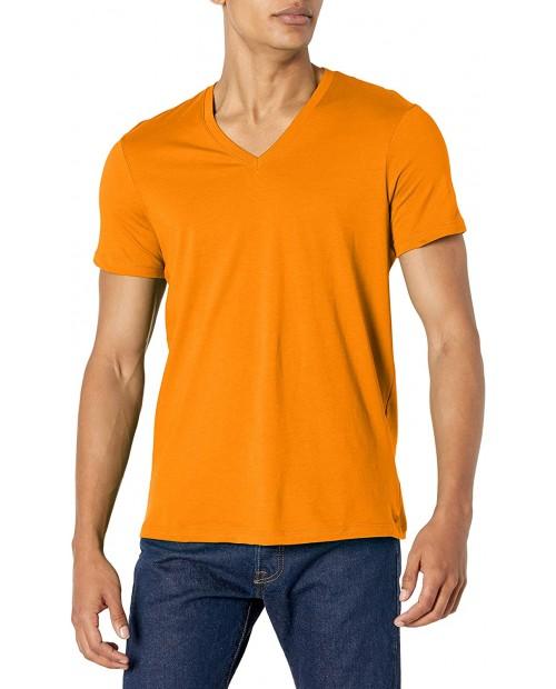 AX Armani Exchange Men's Short Sleeve Pima Cotton Jersey V-Neck T-Shirt  