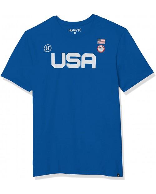 Hurley Men's Premium USA Short Sleeve Tshirt
