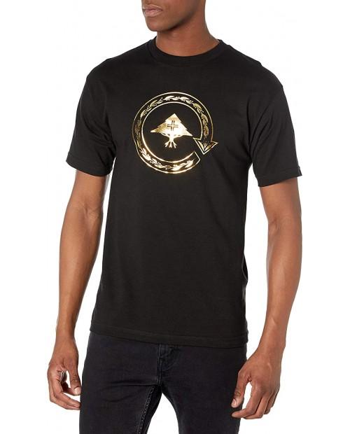 LRG Men's Lifted Research Group Circle Tree Logo T-Shirt