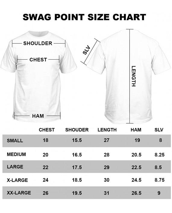 Swag Point Hip HOP Soul Vintage Graphic 100% Cotton T Shirts  