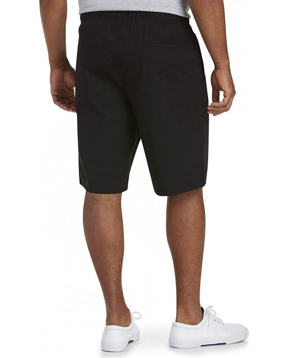 Essentials Men's Big & Tall Drawstring Walking Shorts fit by DXL