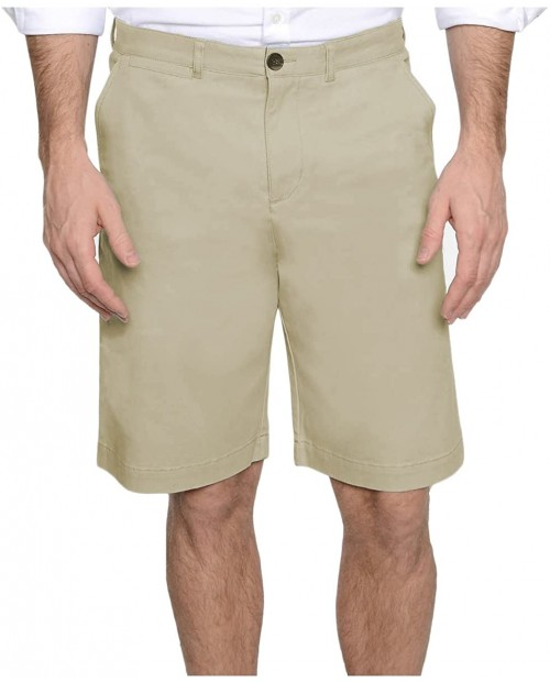 J.A.C.H.S Men's Flat Front Chino Short at  Men's Clothing store