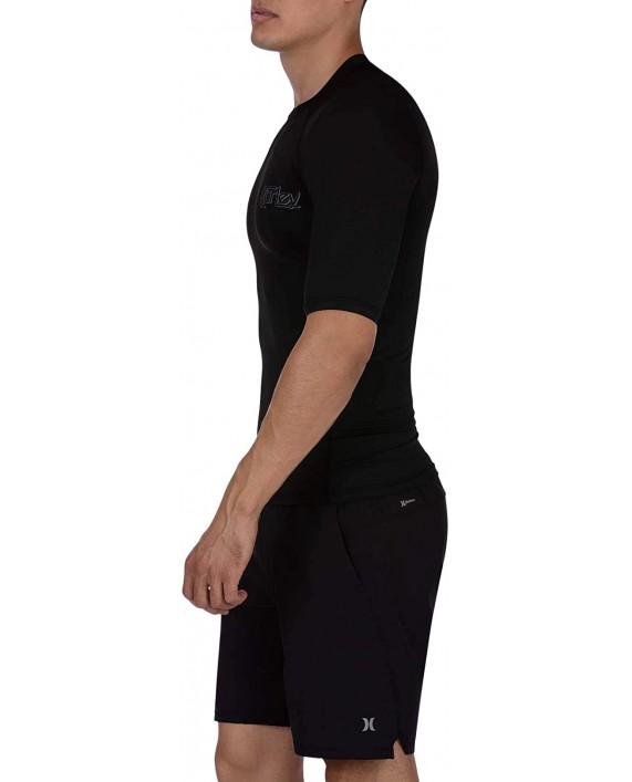 Hurley Men's Pro Light Og Short Sleeve Rashguard