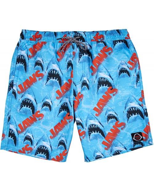 NEFF Men's Jaws Shark Hot Tub Swim Surf Shorts