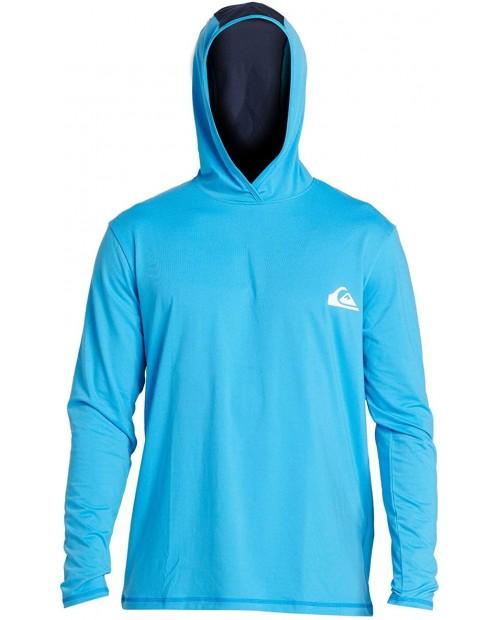 Quiksilver Men's Dredge Ls Hooded Long Sleeve Rashguard Surf Shirt