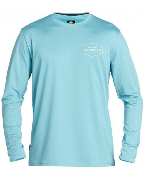 Quiksilver Men's Gut Check Ls Long Sleeve Rashguard Surf Shirt