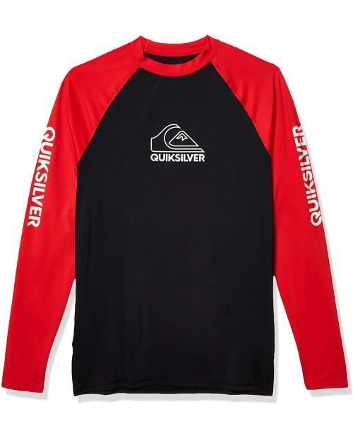 Quiksilver Men's On Tour Ls Long Sleeve Rashguard Surf Shirt