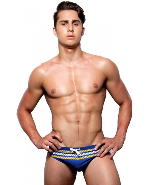 UXH Men's Swimming Briefs Sexy Swimwear Brand Swim Trunks Sexy Low Waist Boxers