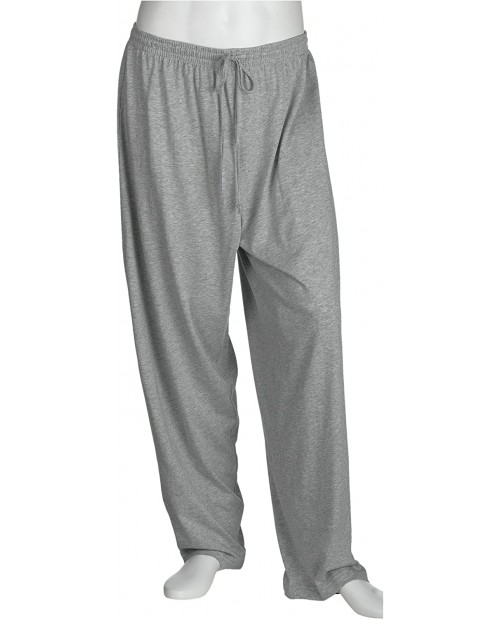 Nautica Men's 1x1 Rib Knit Pant Grey Medium at  Men's Clothing store Pajama Bottoms
