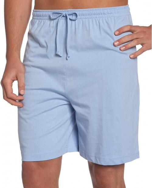 Nautica Men's Sofidry Knit Sleep Short at  Men's Clothing store Pajama Bottoms