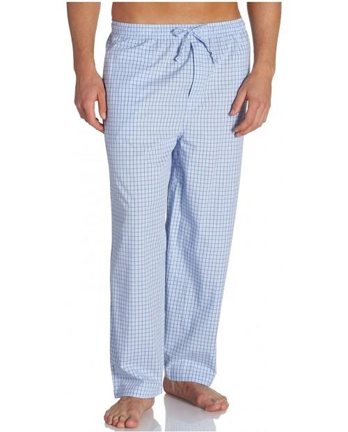 Nautica Men's Vintage Yarn Dyed Woven Beam Plaid Pant at  Men's Clothing store Pajama Bottoms