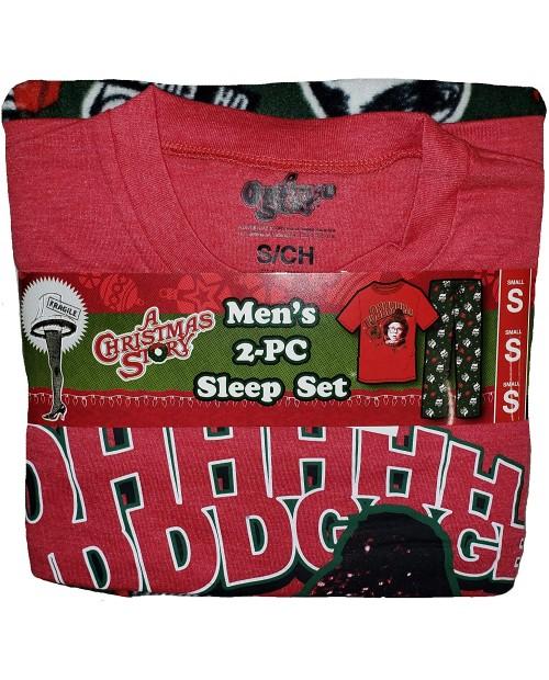 A Christmas Story 2 Piece Sleep Pajama Set at Men's Clothing store
