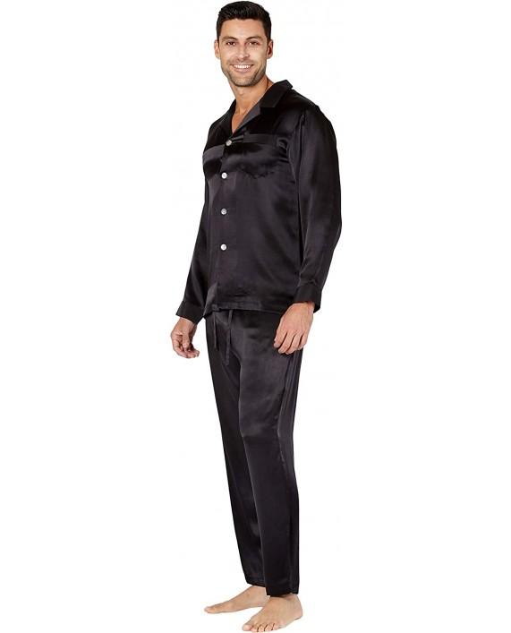 INTIMO Slim Fit Silk Pajamas at Men's Clothing store
