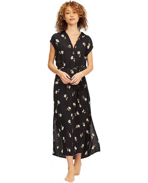 Billabong Women's Lovely Ways Button Front Midi Dress