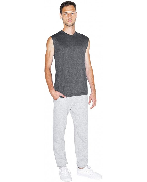 American Apparel Men's Tri-Blend Sleeveless Muscle Tank at Men's Clothing store