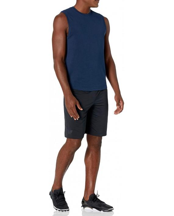 Brand - Peak Velocity Men's Pima Cotton Modal Sleeveless Tank