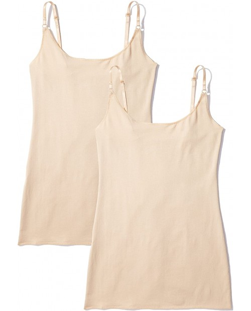 Iris & Lilly Women's Cotton Vest Pack of 2
