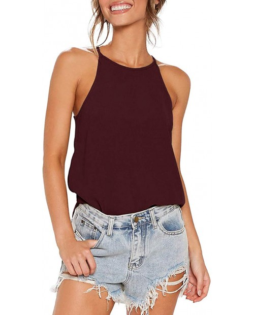Famulily Womens Hater Tank Top Summer Loose Sleeveless Shirt at Women's Clothing store