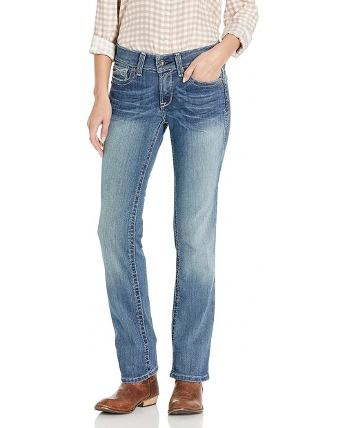 Ariat R.E.AL. Straight Leg Jeans - Women's Slim Fit Denim at  Women's Clothing store