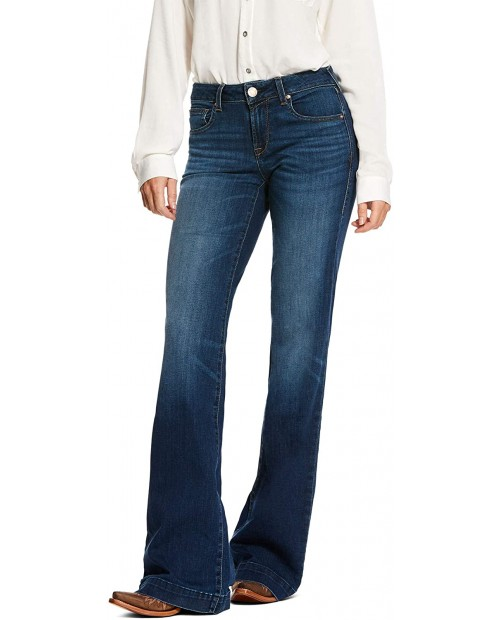 ARIAT Ultra Stretch Trouser Kelsea Jeans in Joanna Joanna 29 L at Women's Jeans store