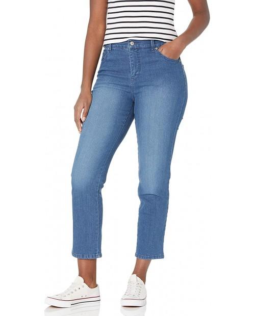 Gloria Vanderbilt Women's Amanda Classic High Rise Tapered Jean at  Women's Jeans store