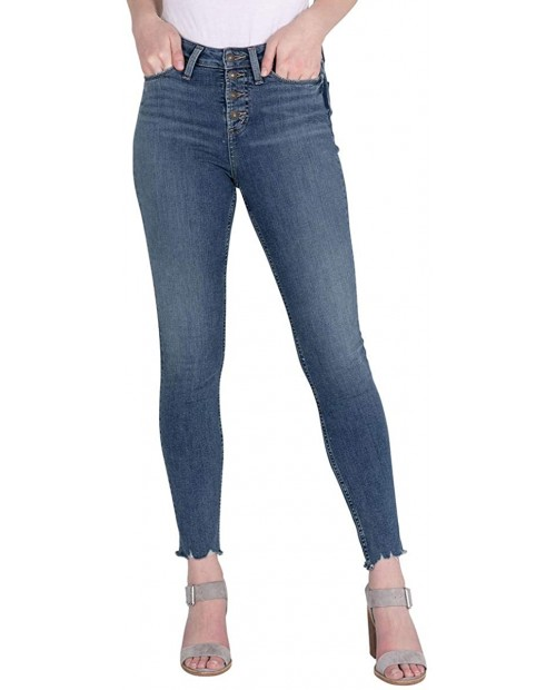 Silver Jeans Co. Women's Note High Rise Skinny Fit Jean