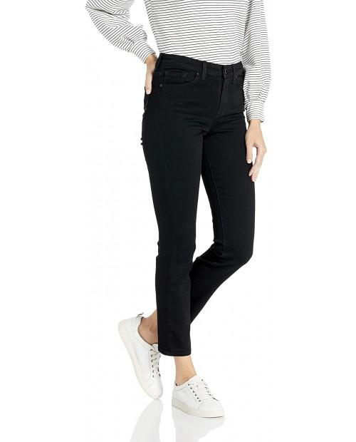 William Rast Women's High Rise Slim Straight Jean at Women's Jeans store
