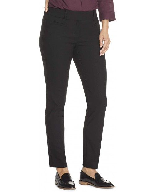 Van Heusen Women's Super Stretch Straight Fit Trouser Pant at Women's Clothing store