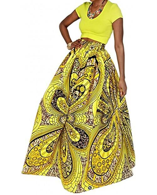 BabyPrice Women's 30 Styles Skirts Printing Maxi Skirt Glamorous Skirt Skirt Beach