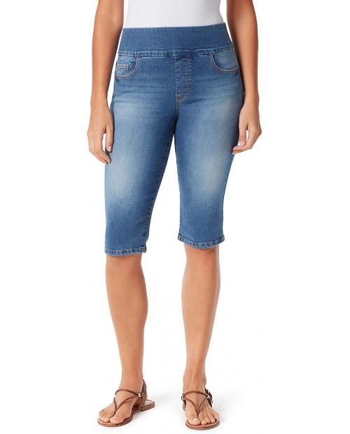 Bandolino Women's Theadora Tummy Toner Pull on Skimmer Short at Women's Clothing store