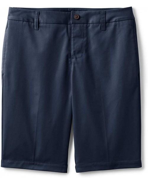 Lands' End School Uniform Women's Adaptive Blend Chino Shorts