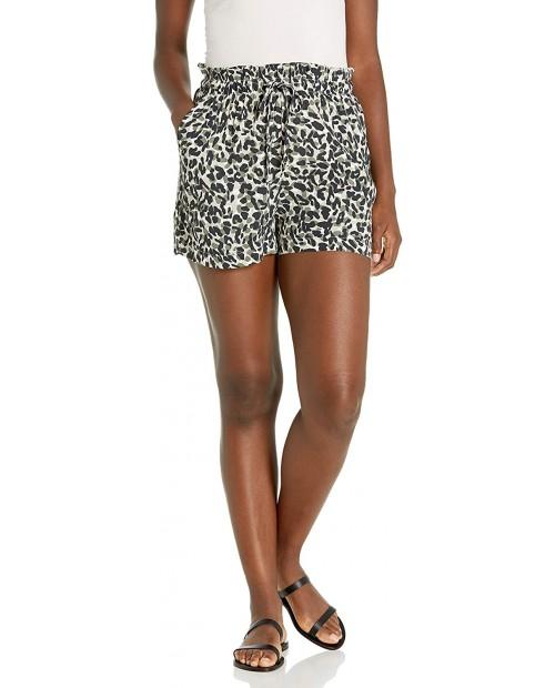 Monrow Women's Paper Bag Shorts at Women's Clothing store
