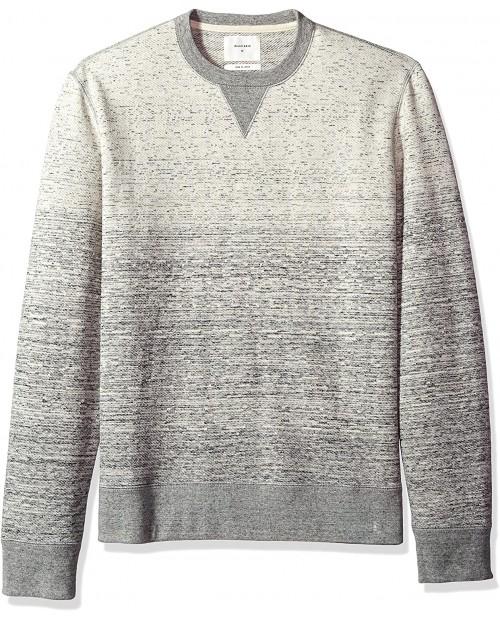Billy Reid Men's Long Sleeve Gradient Crew Neck Sweatshirt at  Men's Clothing store