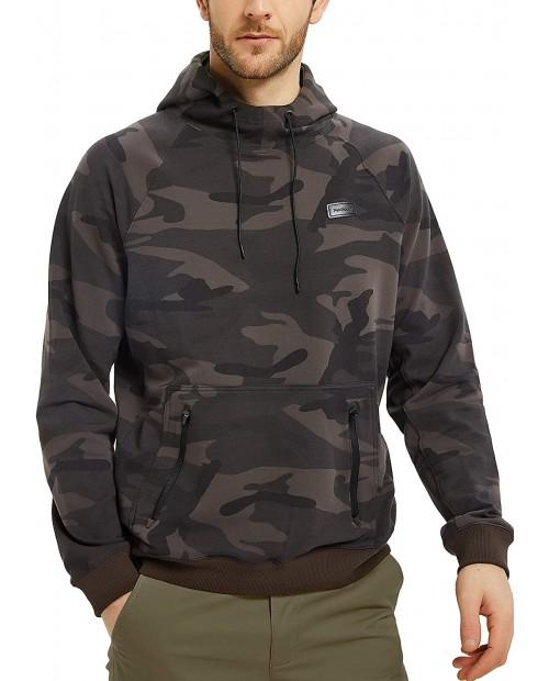 GAVIN BLEU Navifalcon Men's Cotton Pullover Hoodie Sweatshirt