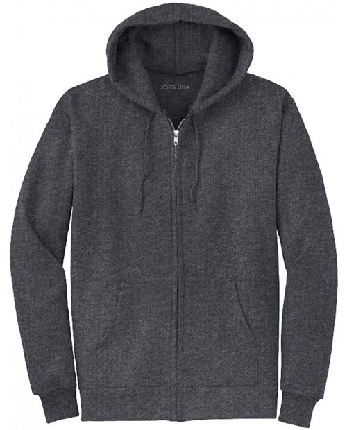 Joe's USA Men's Hoodies Soft & Cozy Hooded Sweatshirts in 62 ColorsSizes S-5XL at  Men's Clothing store Athletic Hoodies