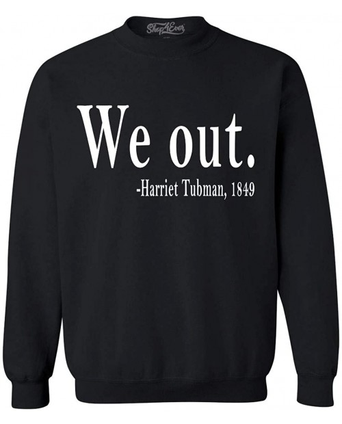 shop4ever We Out. Harriet Tubman 1849 Crewneck Sweatshirts at Men's Clothing store