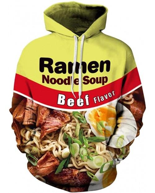 Sportides Unisex Men Women Realistic 3D Digital Print Pullover Hoodie Hooded Fleece Sweatshirt LYM029 at  Men's Clothing store